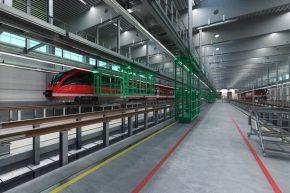 Neues S-Bahn-Werk in Stellingen