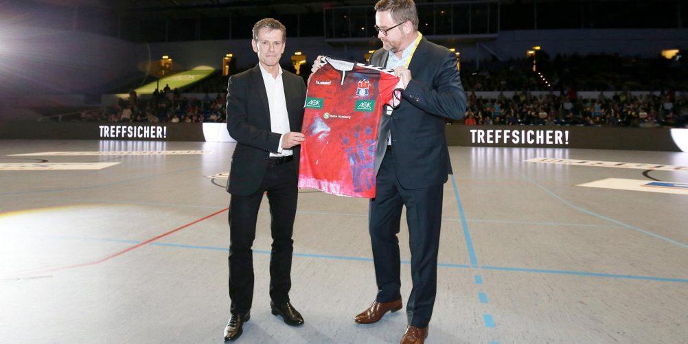 Handball Sport Verein als neuer Partner an Bord