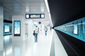 Zukunft Bahn beginnt in der S-Bahn-Station Stadthausbrücke
