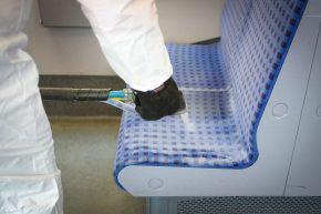 Innovativ und effektiv –Die S-Bahn reinigt mit Trockeneis