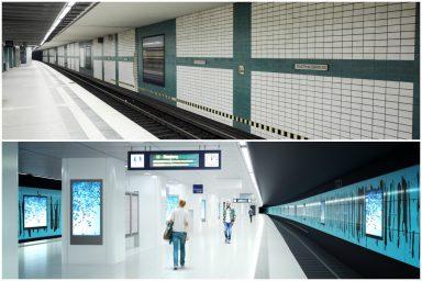 Neuer Anstrich – Hamburger Tunnelstationen werden modernisiert