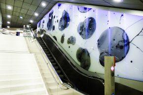 Zukunft Bahn in der S-Bahn-Station Jungfernstieg