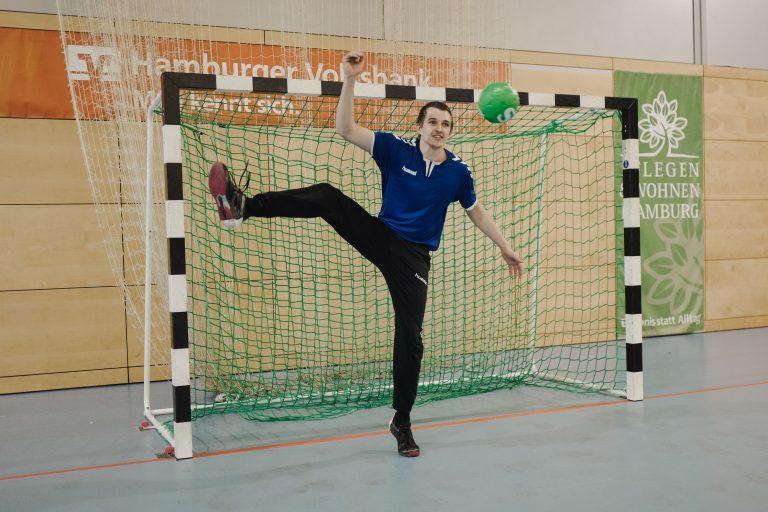 Lernen von den Besten! – Trainingscamp mit unseren Handball-Stars