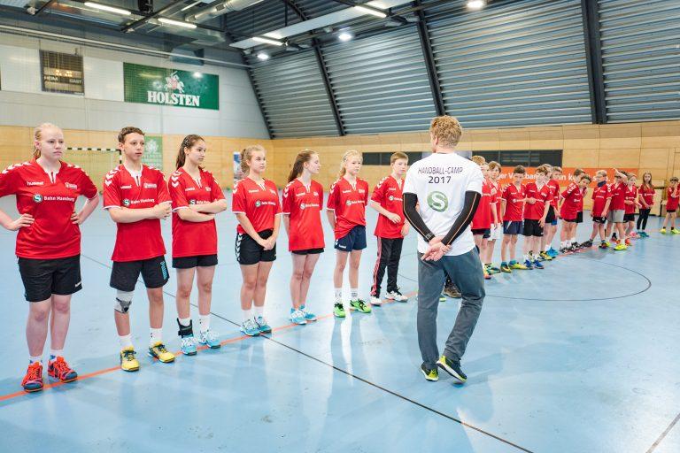 S-Bahn-Handballcamp 2017: Ein großer Tag für die Kleinen