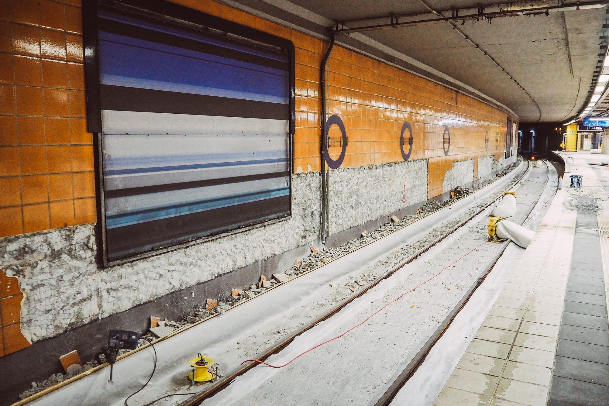 S-Bahn Bauarbeiten