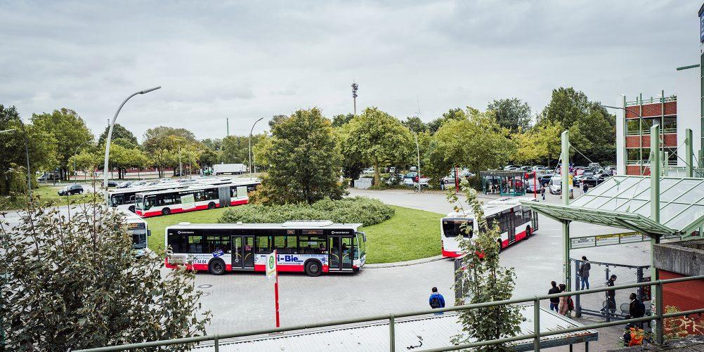 Bauarbeiten zwischen Berliner Tor und Tiefstack – der Weg zu den Ersatzbussen
