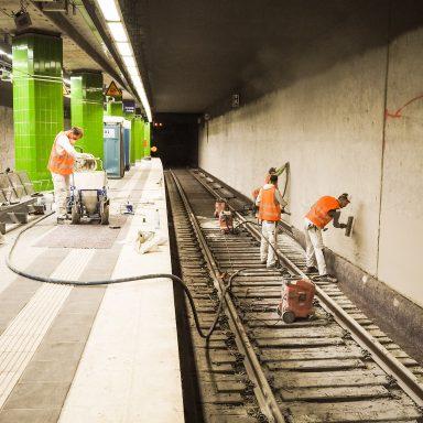 Heimfeld – Einblick in die Modernisierungsarbeiten