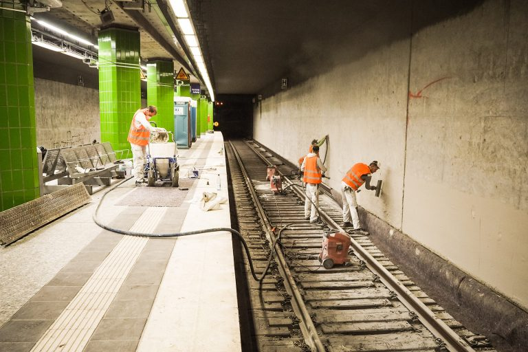 Modernisierungen an den Tunnelstationen – ein Update
