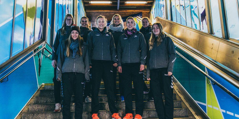 Unterwegs für das Volleyball-Team Hamburg