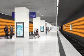 Weitere Station im Citytunnel wird modernisiert: Zukunft Bahn beginnt an der Königstraße