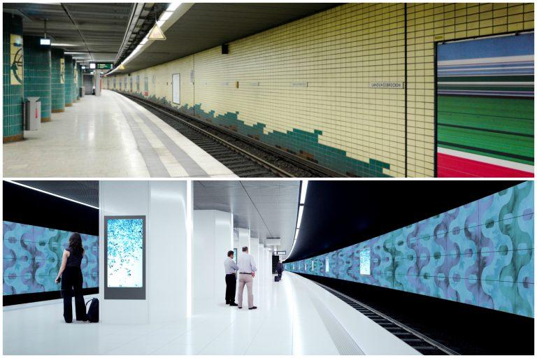Erste Phase des Modernisierungsprojekts beginnt – Bauarbeiten an der Station Landungsbrücken