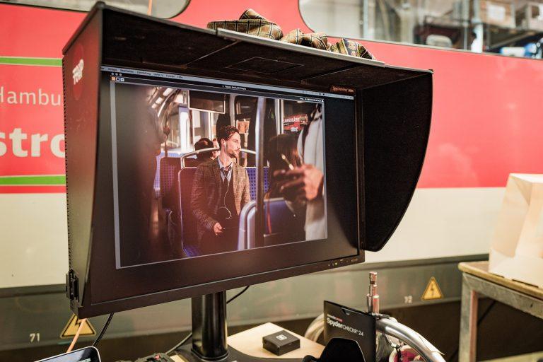 Der ET 490 im Scheinwerferlicht – Behind the Scenes beim Kampagnenshooting