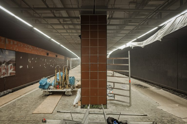 Einblicke in die Bauarbeiten – Zukunft Bahn in der Königstraße