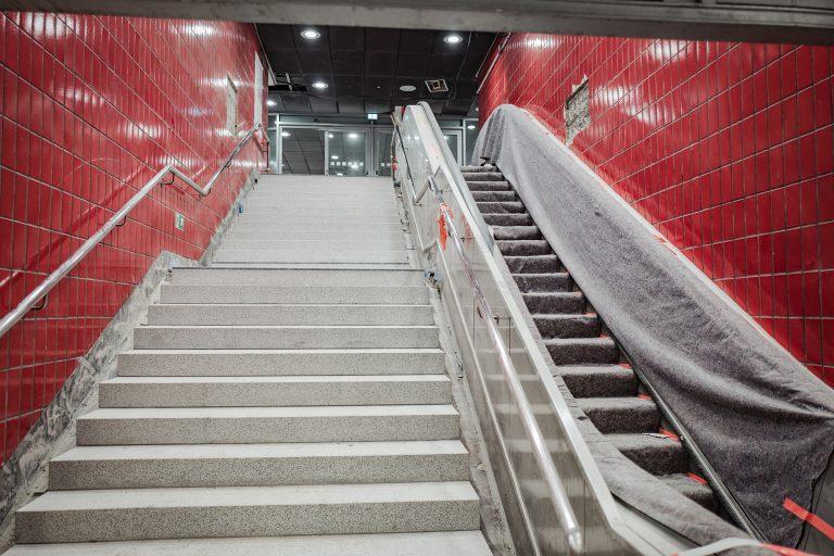 Einblicke in die Bauarbeiten – das passiert an der Station Reeperbahn