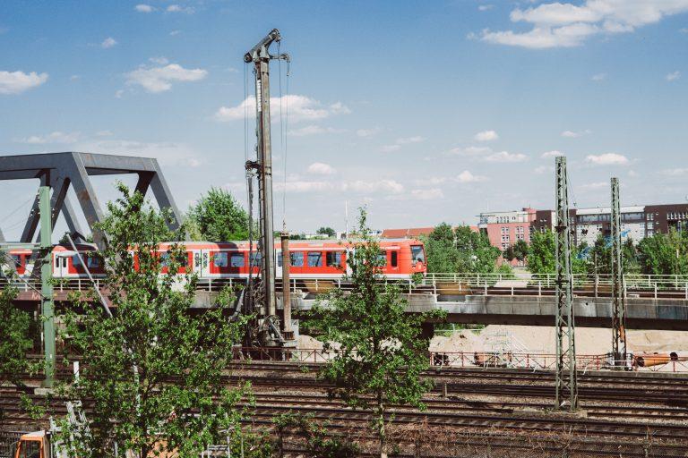 Neue Station Elbbrücken: aktueller Baustatus