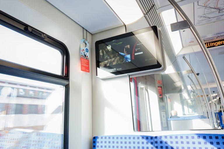 Mehr Service für den Fahrgast – S-Bahn Hamburg und HOCHBAHN präsentieren gemeinsames Fahrgastfernsehen