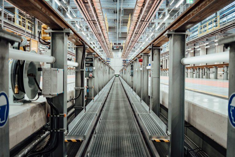 Das grüne Werk – voll in Betrieb