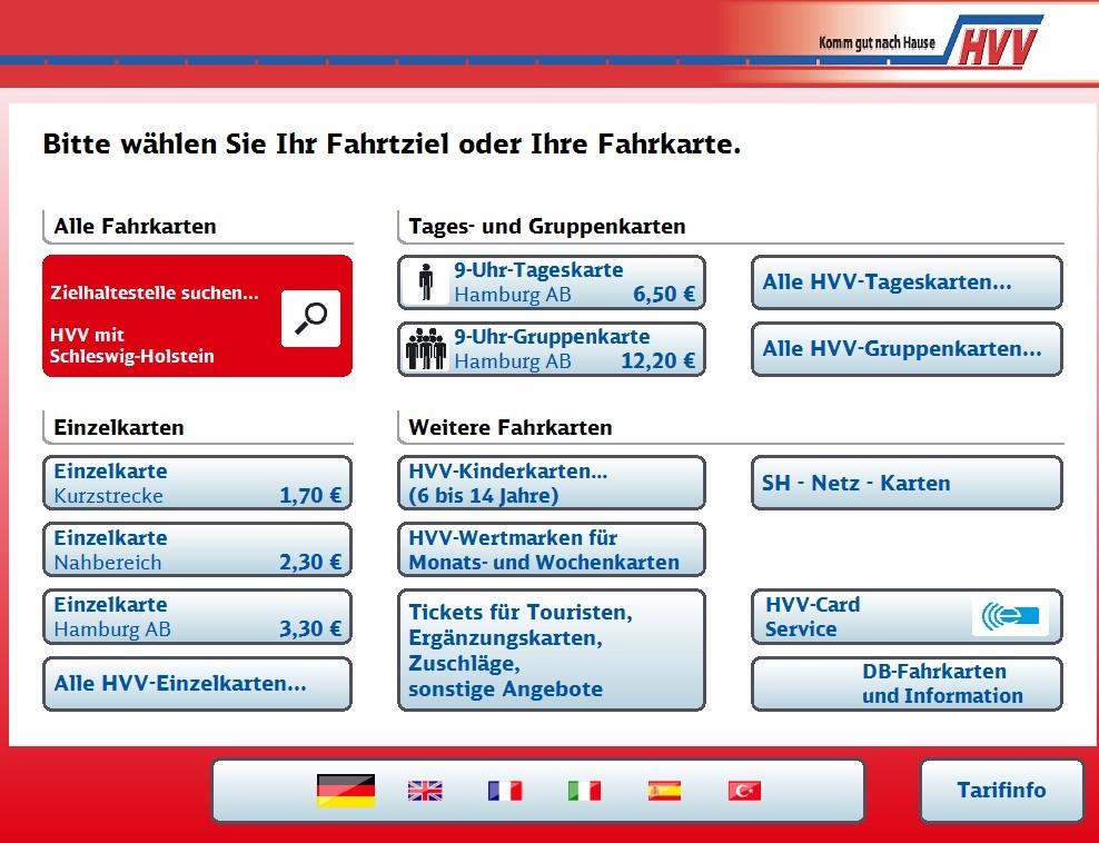 Hvv Karte Zonen.Neuer Service Ab Sofort Gibt S Mehr Tickets Am Automaten