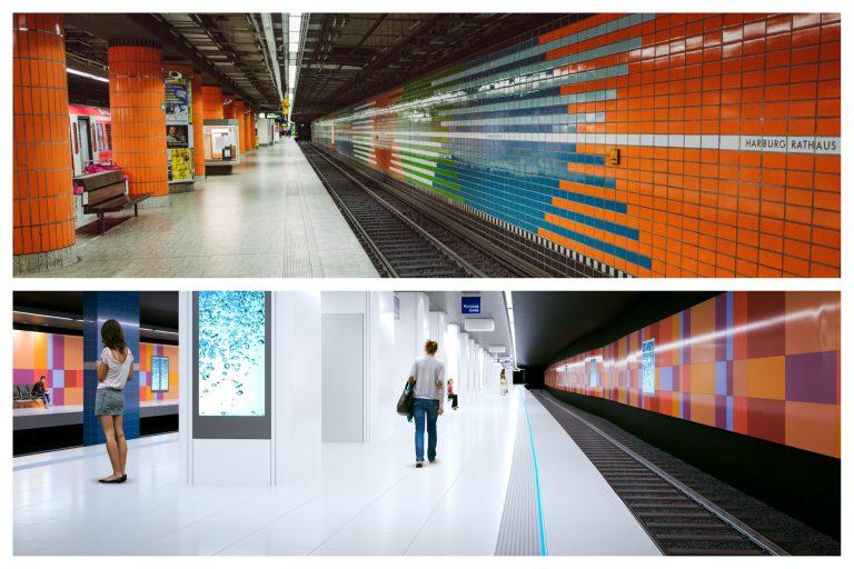 Zukunft Bahn beginnt in der S-Bahn-Station Harburg Rathaus