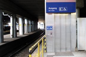 Barrierefrei unterwegs – Erneuerung der Aufzüge am Hauptbahnhof