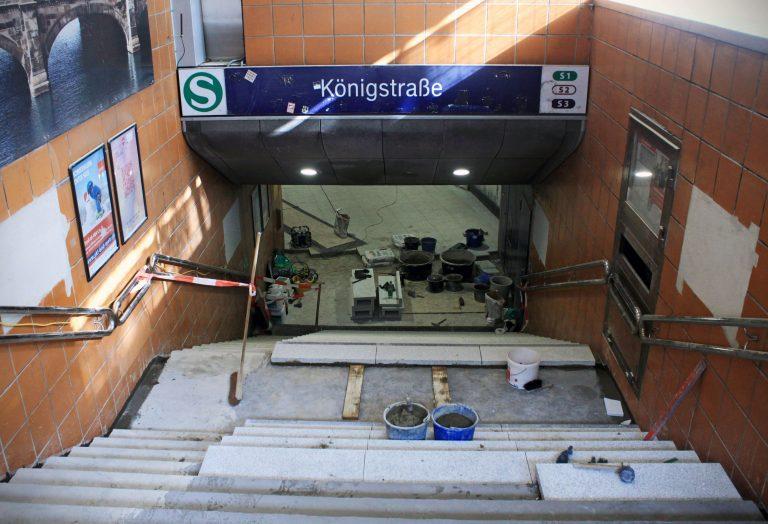 Stationsmodernisierungen in den Herbstferien – Einblick in die Bauarbeiten