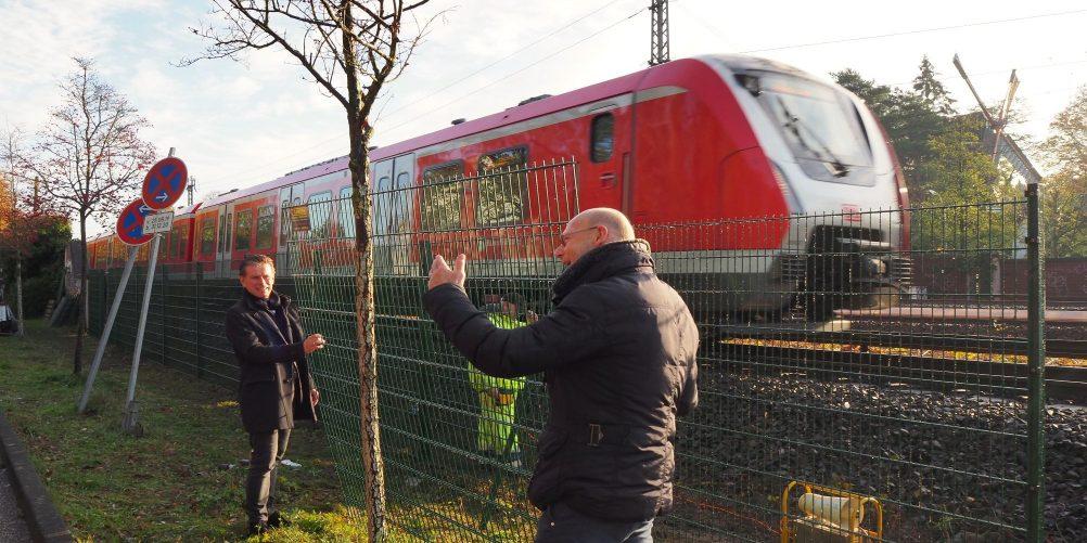 Starke Schiene in Hamburg – S-Bahn Hamburg baut Zäune