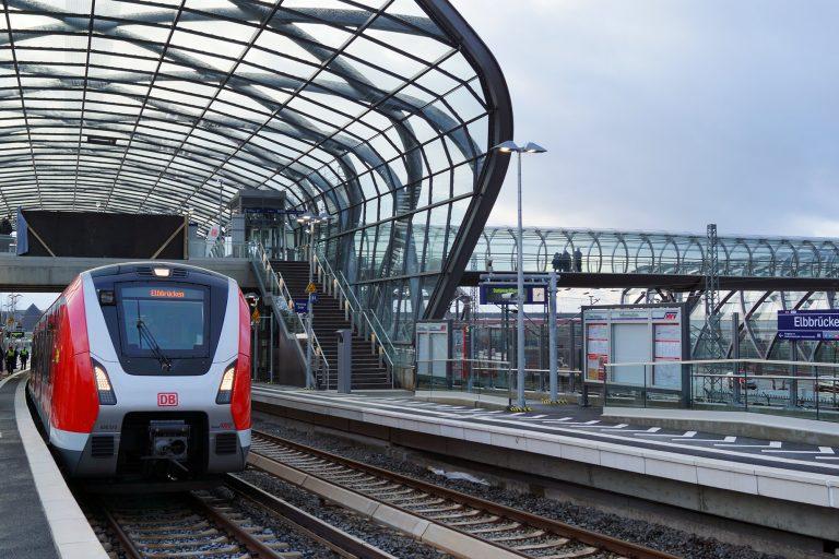 S-Bahn-Station Elbbrücken: Der neue Umstieg in Hamburg