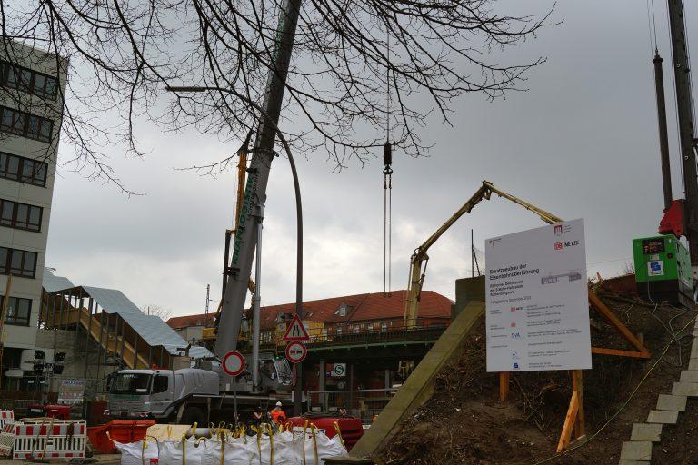 Brückenarbeiten zwischen Berliner Tor und Tiefstack – es geht weiter