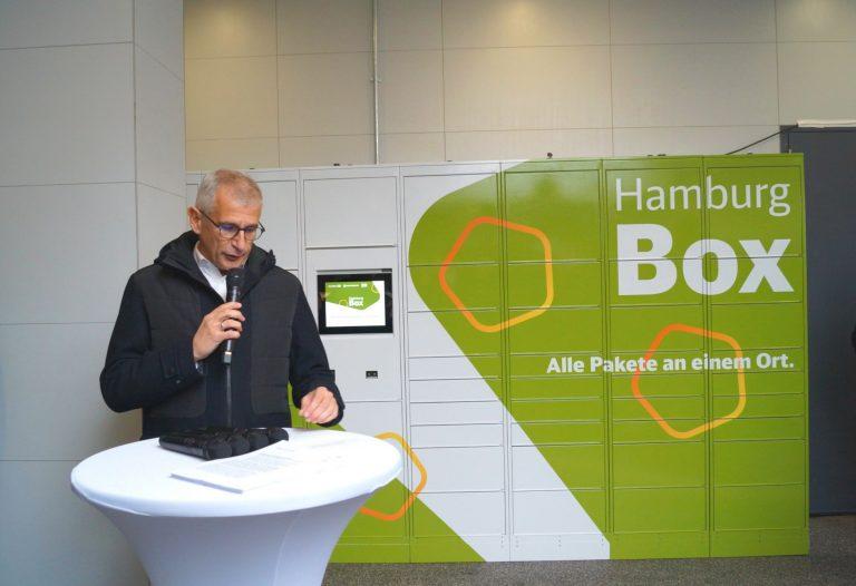 Die Hamburg Box – die neue Paketstation in Barmbek