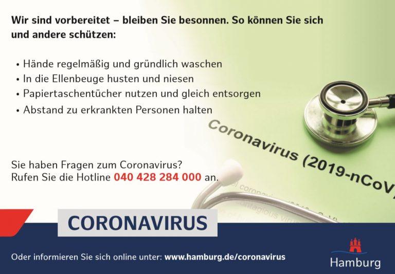Coronavirus – Aktuelle Informationen