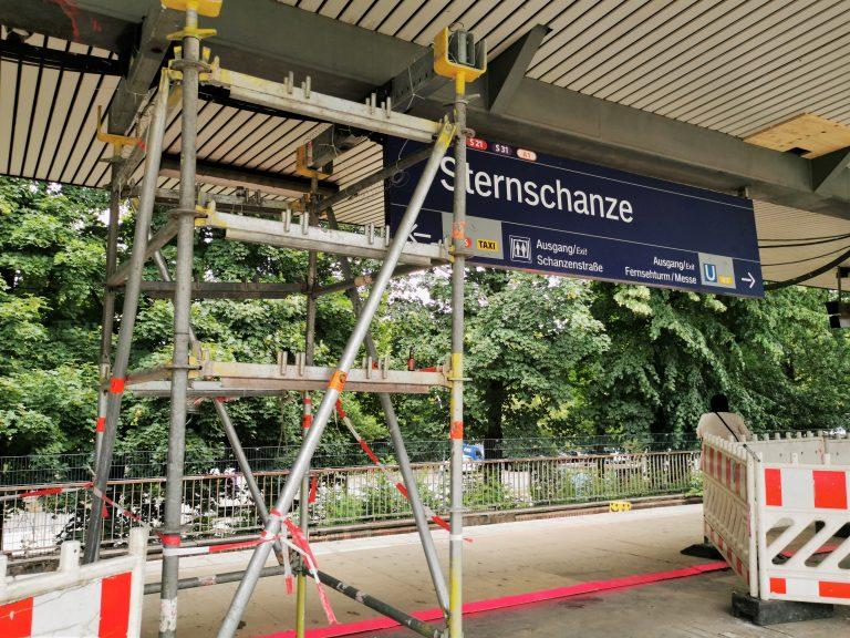 Alles neu macht der Juli – Modernisierung an der Station Sternschanze