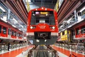 """""""Digitale Schiene"""" startet in Hamburg: Die erste S-Bahn ist fertig"""