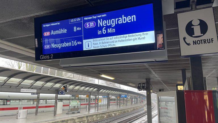 Gestatten: Unsere neuen Zugzielanzeiger – Mehr Infos für euch am Bahnsteig