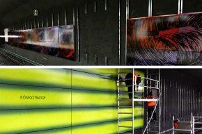 Modernisierungsarbeiten im Citytunnel – Ein Zwischenstand von den Stationen