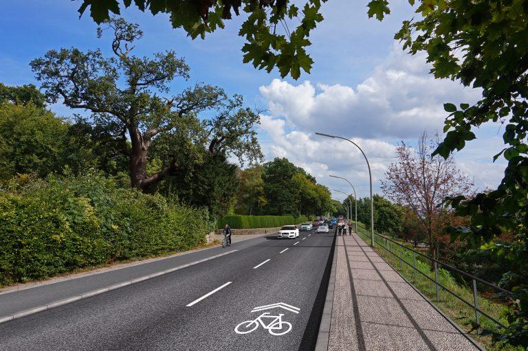 Sanierung der Elbchaussee – S-Bahn unterstützt das Verkehrsangebot