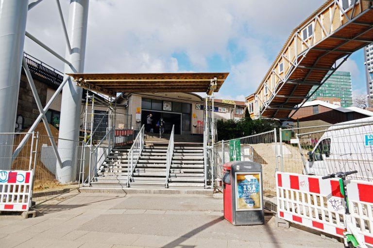 S-Bahnhof Berliner Tor wird modernisiert – Neuer Zugang für unsere Fahrgäste